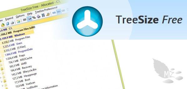 Analizar el espacio ocupado en disco con TreeSize
