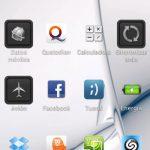 ahorro de bateria telefono movil smartphone pantalla blanco o negro